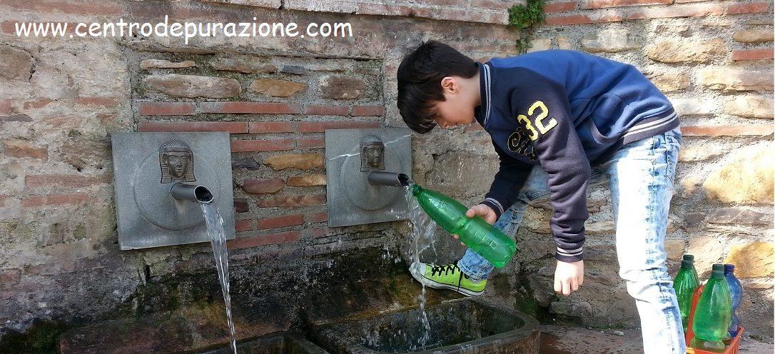 Trattamento acqua di sorgente
