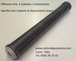 diffusore elastomero per fanghi nattivi