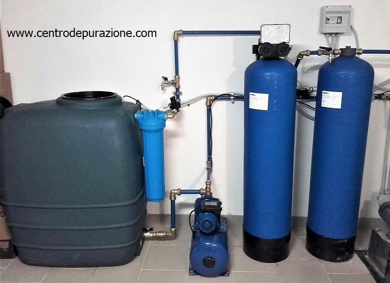 Impianto depurazione acqua di pozzo