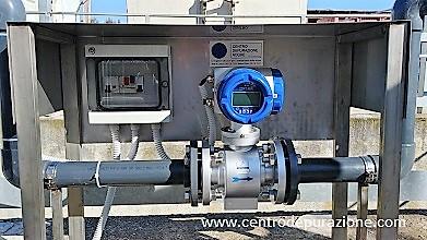 misuratore di portata per acque reflue