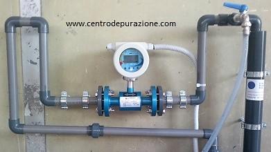 misuratore di acque reflue industriali