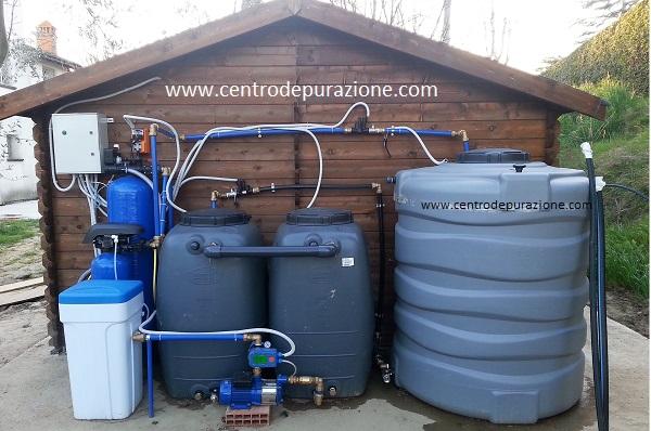 trattamento acqua di pozzo