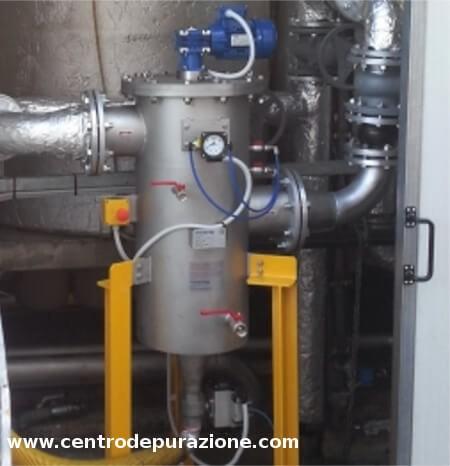 Filtro autopulente industriale