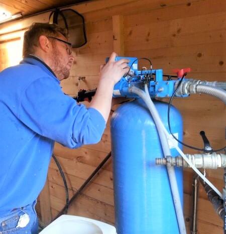 Riparazione depuratori acqua