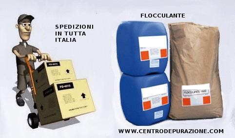 Consegna prodotti chimici